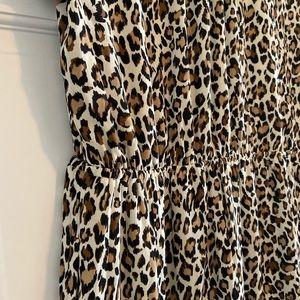 DR2 Dresses - NWT DR2 Leopard Cheetah Dress Size Large